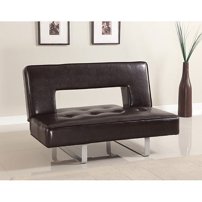Ewan Adjustable Espresso Sofa
