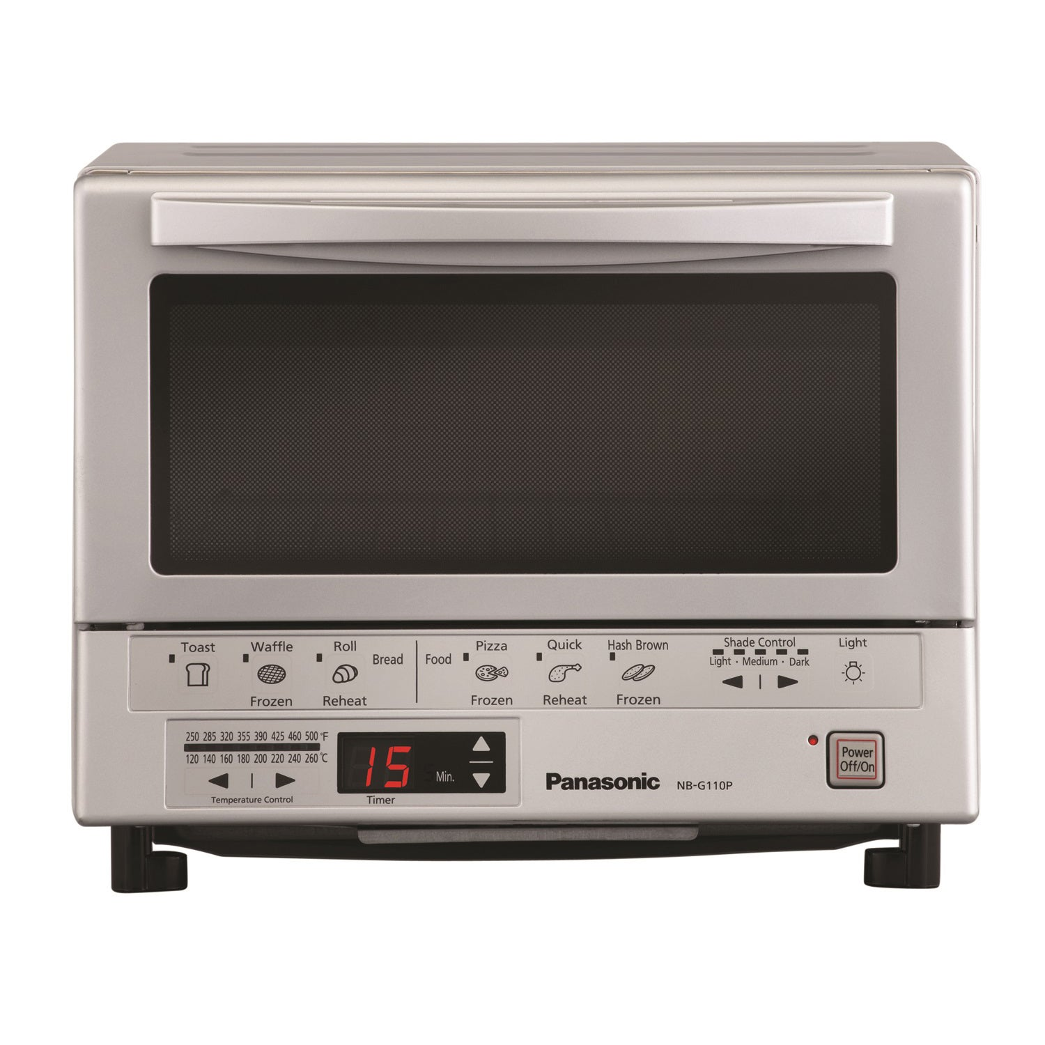 Panasonic NB-G110P FlashXpress Toaster Oven with Double I...