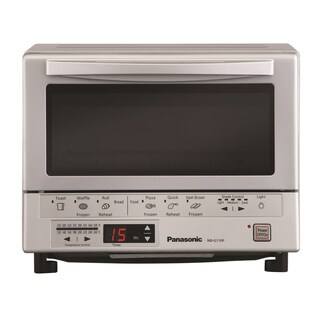 Panasonic NB-G110P FlashXpress Toaster Oven with Double Infrared Heating