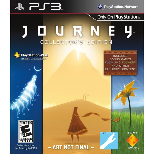 PS3  - Journey Collector's Edition