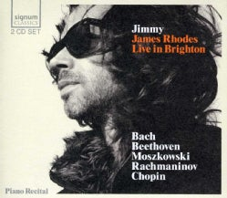 BACH/BEETHOVEN/MOSZKOWSKI/RACHMANINOV/CHOPIN - JIMMY JAMES RHODES LIVE IN BRIGHTON