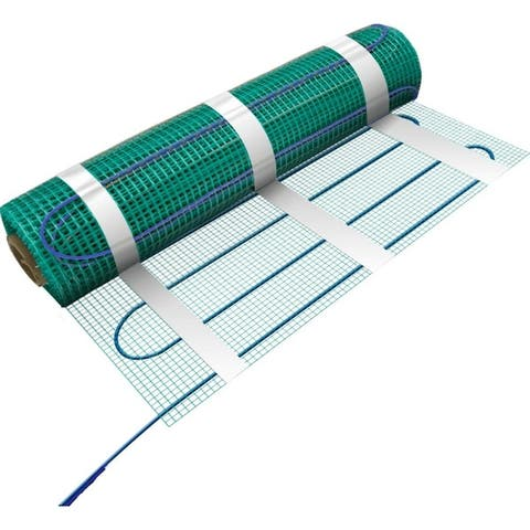 WarmlyYours 78 Sq.ft 120 Volts Electric Floor Heating Flex Roll - For under tile, stone, hardwood and LVT flooring
