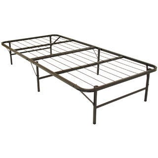 Durabed Twin Size Heavy Duty Steel Foundation And Frame In