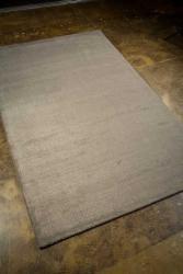 Hand-tufted Grey Wool Blend Rug (3'6 x 5'6) - Thumbnail 1