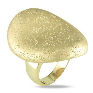 M by Miadora 18k Gold Plated Cocktail Ring
