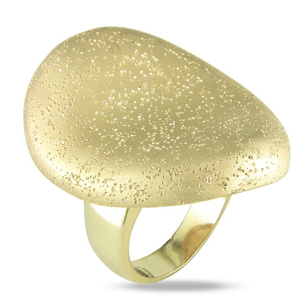 Miadora 18k Gold Plated Cocktail Ring