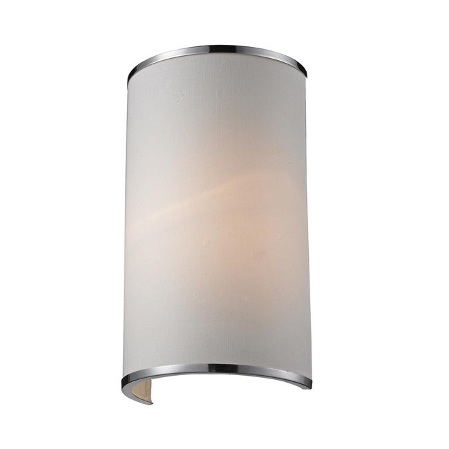 Cameo 1-light Chrome Wall Sconce - Thumbnail 0