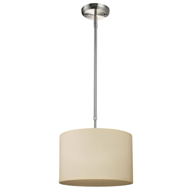Albion 1-light Nickel Pendant
