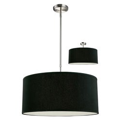 Albion black drum shade 24 inch lighting fixture free shipping albion black drum shade 24 inch lighting fixture mozeypictures
