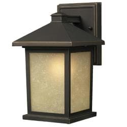 Holbrook Traditional 1-Light Oil-Rubbed Bronze Outdoor Wall Light