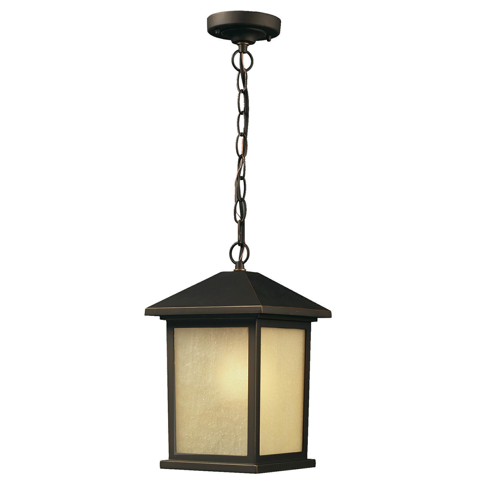 Holbrook 1-light Oil Rubbed Bronze Outdoor Light