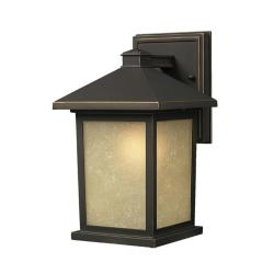 Holbrook 1-light Oil Rubbed Bronze Outdoor Wall Light