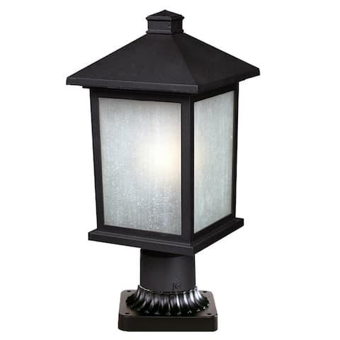 Holbrook Black Outdoor Light Fixture