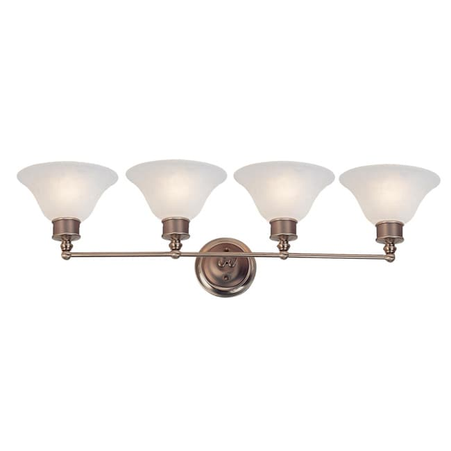 Dynasty 4-light White Lighting Fixture