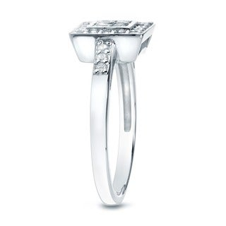 10k Gold 1/3ct TDW Round Diamond Engagement Ring (K-L, I2-I3)