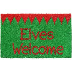 Elves Welcome Non-slip Doormat