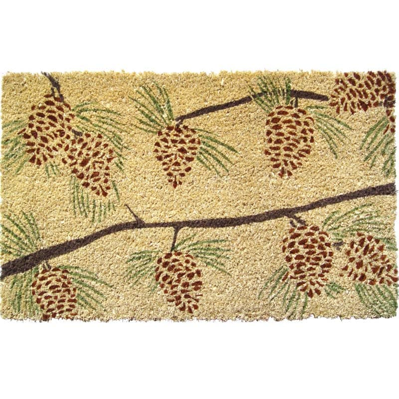 Pine Cones Non-slip Doormat