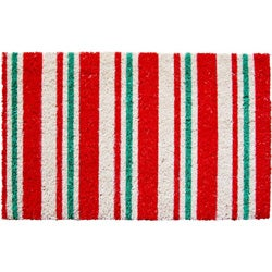 Candy Cane Stripes Non-slip Doormat