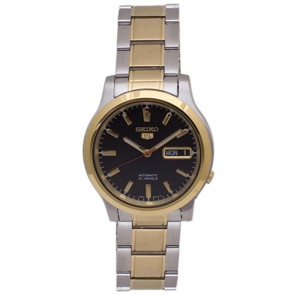 Seiko Men's 5 Two-tone Watch