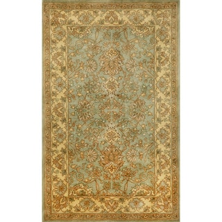 Hand-tufted Issa Blue Wool Rug (8' x 10')