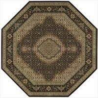 Nourison Persian Arts Black Rug - 7'9 x 7'9
