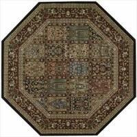 Nourison Persian Arts Multi Rug - 7'9 x 7'9