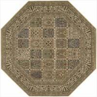 Nourison Persian Arts Beige Rug - 7'9 x 7'9