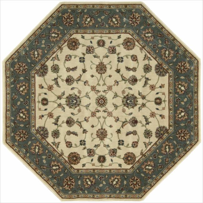 "Nourison Persian Arts Ivory Area Rug (5'3"" x 5'3"" Octagon)"
