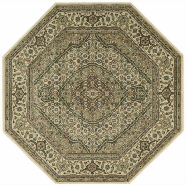 Nourison Persian Arts Ivory Rug (5'3 x 5'3 Octagon)