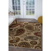 Alise Rugs Infinity Transitional Paisley Area Rug - 7'10 x 10'3