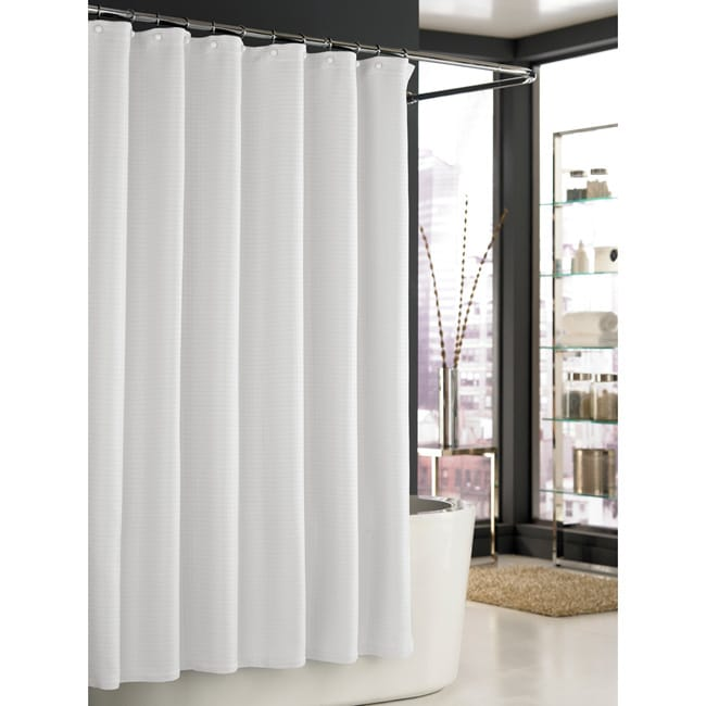 Trump Home Mar A Lago White Spa Waffle Shower Curtain