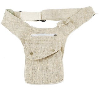 Hemp Pouch Belt (Nepal)