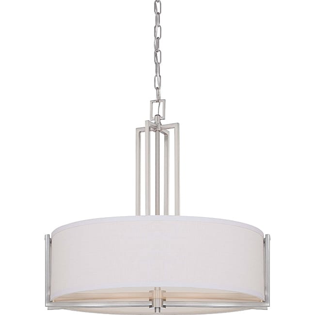Gemini Brushed Nickel 4-light Pendant