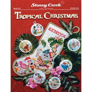 Stoney Creek Tropical Christmas Counted Cross-stitch Pattern Book