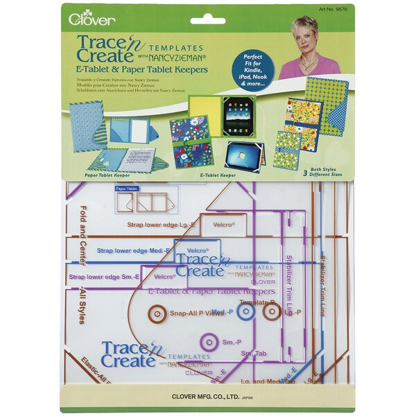 Trace 'n Create E-Tablet Templates With Nancy Zieman-