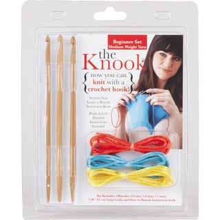 Leisure Arts 'The Knook' Knitting Needle/Crochet Hook Combination Tool