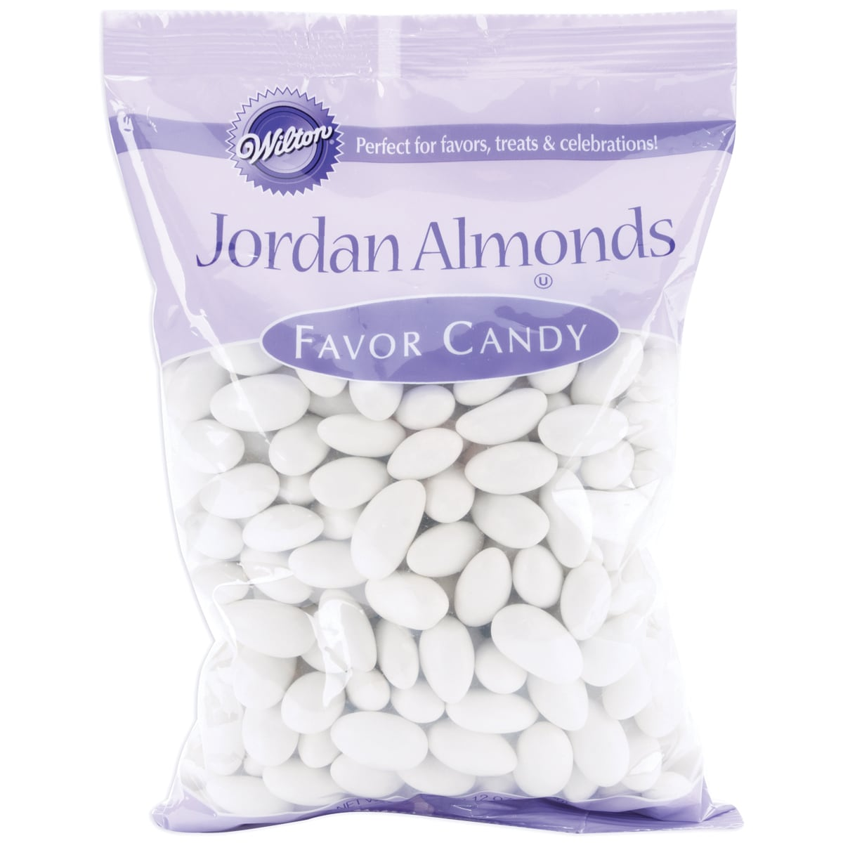 Jordan Almonds 44 Ounces/Pkg-White