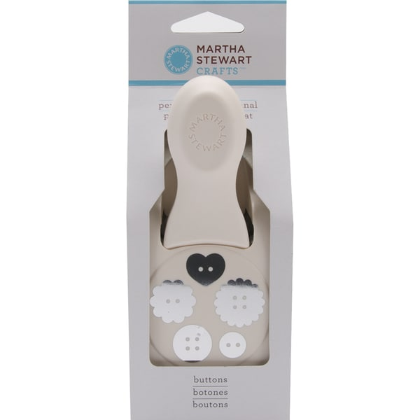 Martha Stewart Large Double Punch-Buttons 1.875""