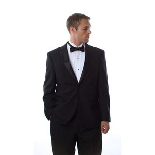 Ferretti Men's Black Wool Tuxedo (As Is Item)|https://ak1.ostkcdn.com/images/products/6784282/P14322453.jpg?_ostk_perf_=percv&impolicy=medium