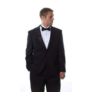 Ferretti Men's Black Wool Tuxedo|https://ak1.ostkcdn.com/images/products/6784282/P14322453.jpg?impolicy=medium