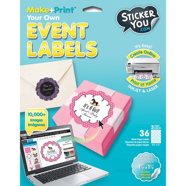 Sticker You Sticker Labels-Event Labels - 24 Glossy Labels