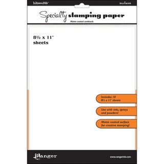 """Inkssentials Specialty Stamping Paper - 8-1/2"""" X 11in"""