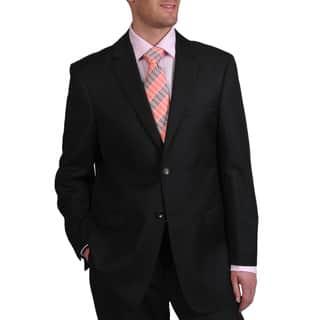 Prontomoda Europa Men's 'Super 140' Black Wool Suit https://ak1.ostkcdn.com/images/products/6784337/P14322455.jpg?impolicy=medium