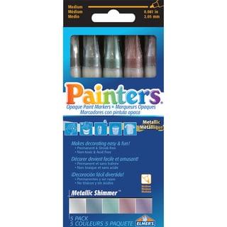 Metallic Shimmer Markers 5/Pkg-Assorted