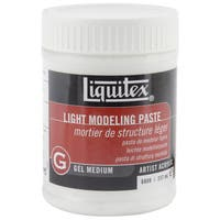 Liquitex Light Modeling Paste Gel Acrylic Medium-8 Ounces