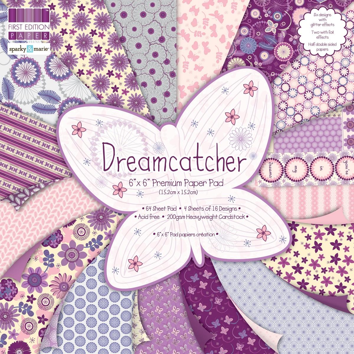 """Premium Paper Pad 6""""X6"""" 64/Sheets-Dreamcatcher"""