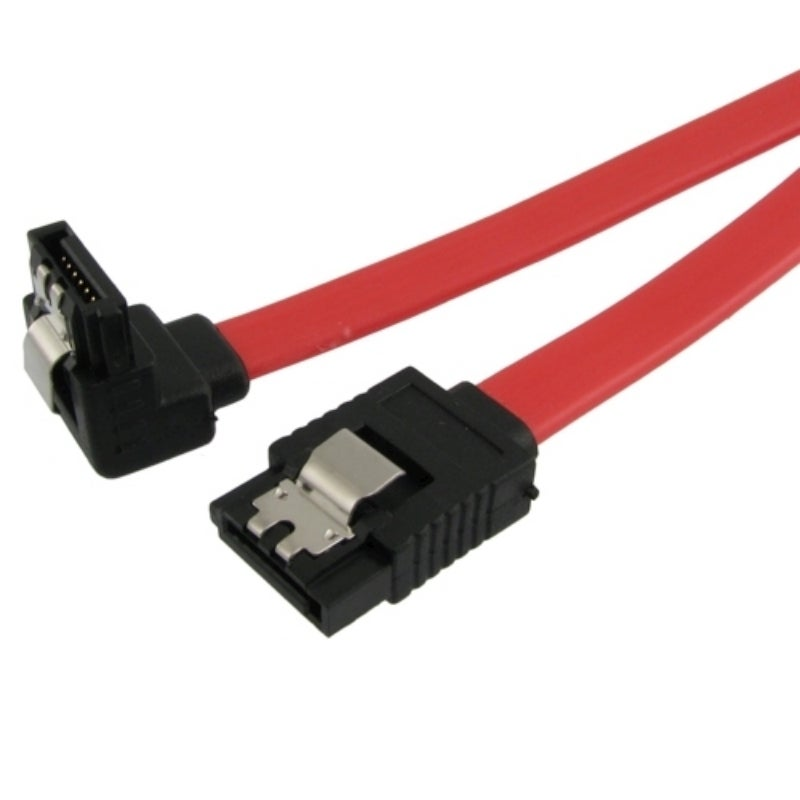 INSTEN 18-inch Straight to Right Angle SATA Data Cable