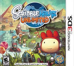 Nintendo 3DS - Scribblenauts Unlimited
