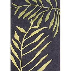 Alliyah Handmade Tender Green New Zealand Blend Wool Rug (8' x 10')