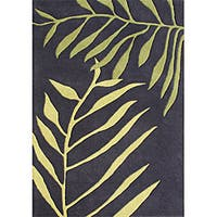 Alliyah Handmade Tender Green New Zealand Blend Wool Rug - 8' x 10'
